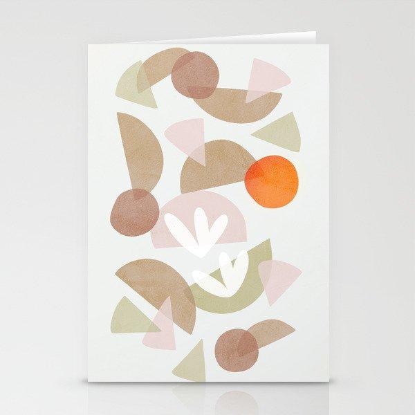 Minimal Autumnal Dance 1 Stationery Cards