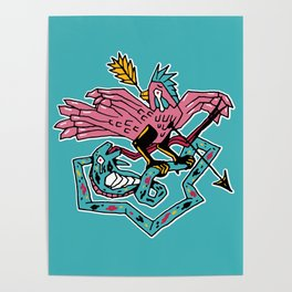 King pigeon Poster