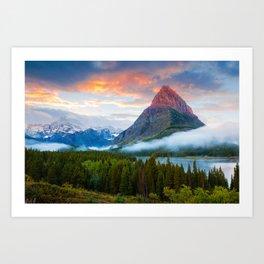 Glacier National Park Art Print