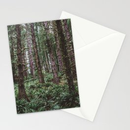 Forest Dark, Forest Deep III Stationery Cards