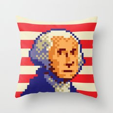 Jurassic President, Episode 1 – American History Rex Throw Pillow
