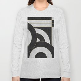 Geometric Marble 01 (abstract) Long Sleeve T-shirt