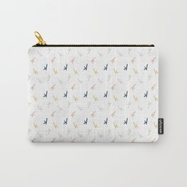 K Confetti Carry-All Pouch