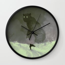 Hunted Wall Clock