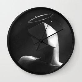 Cube Goddess Wall Clock