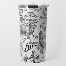 ZODIAC CANVAS CALLIGRAPHY Travel Mug