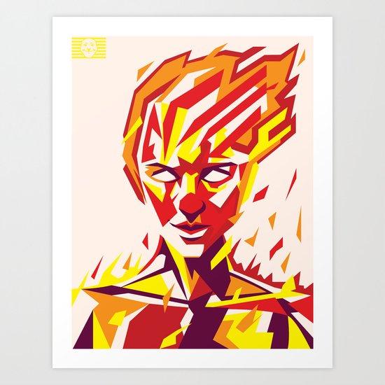 RISE 1 Art Print