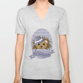 Ms. Hedgehog Unisex V-Neck