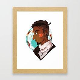 Malik Framed Art Print