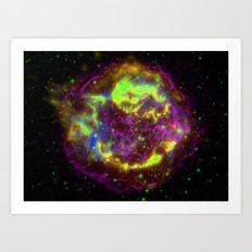 The Big Electron Art Print