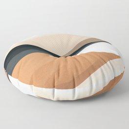 Abstract Art Landscape 15 Floor Pillow