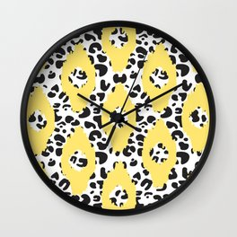 Animal tribal abstract Wall Clock