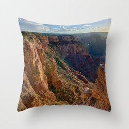 The Spire Abyss near Zuni Point on the south rim of the Grand Canyon Throw Pillow