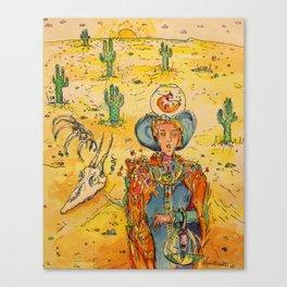 Apocalypse by Drought Canvas Print