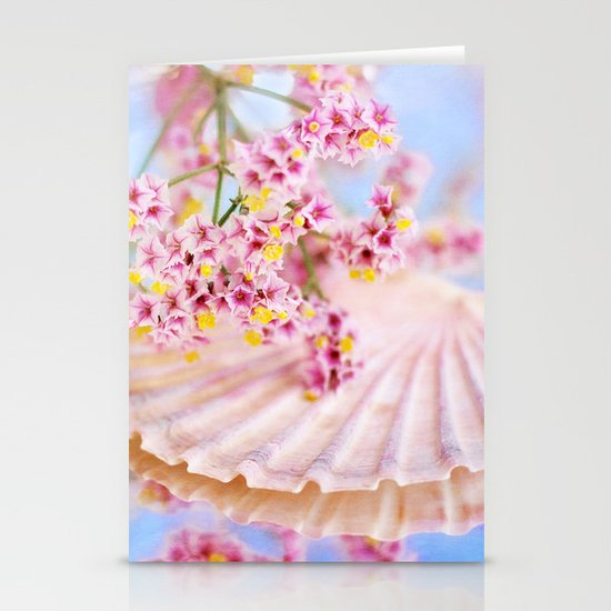 PINK SEA SHELL DREAM Stationery Cards