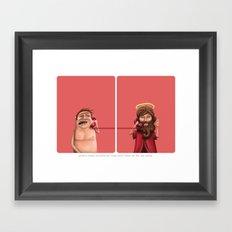Strange believes 2 Framed Art Print