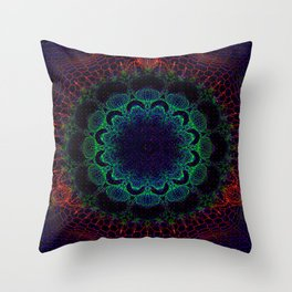 Cosmosis Throw Pillow