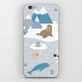 Arctic animals iPhone Skin
