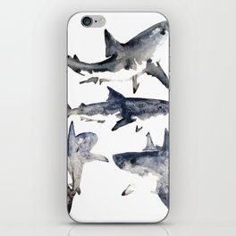 School or Shiver iPhone Skin