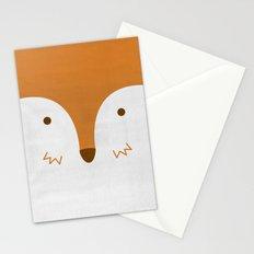 Mr Fleecy Fox Stationery Cards