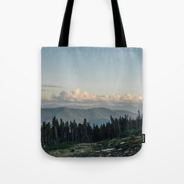 The 'Dacks and the Clouds Tote Bag
