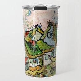 Vincent Van Gogh - Houses and Figure Travel Mug
