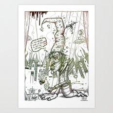 El brujo Art Print