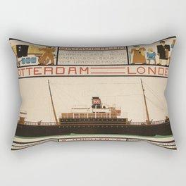 Vintage poster - Rotterdam - London Rectangular Pillow