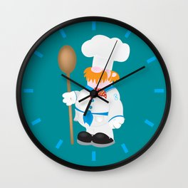 OCD Obsessive cooking disorder Wall Clock