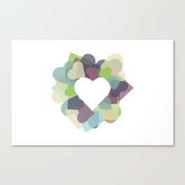 HEART HEART Canvas Print