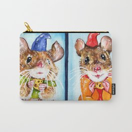 Gus Gus and Jack Carry-All Pouch