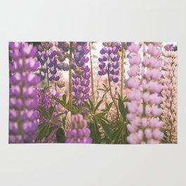 Lupine Flower Dreams Rug