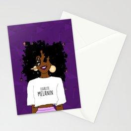 LEGALIZE MELANIN (D) Stationery Cards