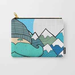 Blue Beard Carry-All Pouch