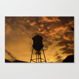 Brooklyn Water Tower Canvas Print