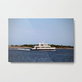 Ferry To The Island Metal Print