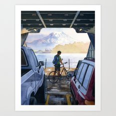 Puget Sound Art Print