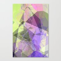 polygon Canvas Prints featuring Polygon by Fine2art