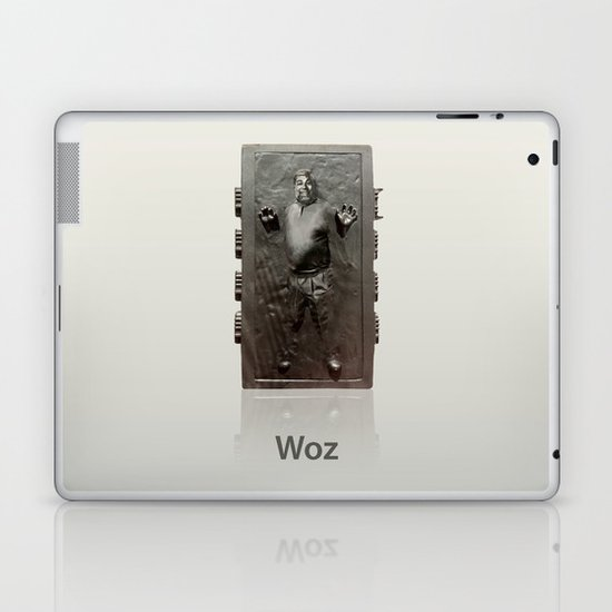 Steve Wozniak in Carbonite Laptop & iPad Skin