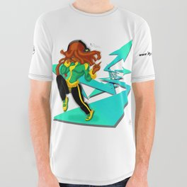 Way of the Music All Over Graphic Tee