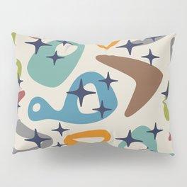 Retro Mid Century Modern Abstract Composition 926 Pillow Sham