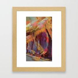 Hobnob Framed Art Print