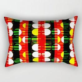 Clashing Creativity Rectangular Pillow
