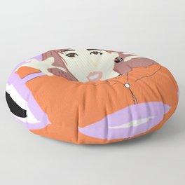 Knock Knock! Nayeon Purple Floor Pillow