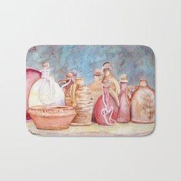 Lithuanian Pottery  WC20150709a Bath Mat