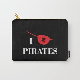 I heart Pirates Carry-All Pouch