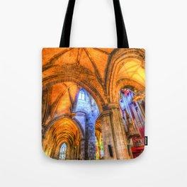 St Giles Cathedral Edinburgh Scotland Tote Bag