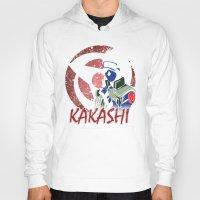 kakashi Hoodies featuring KAKASHI by BradixArt