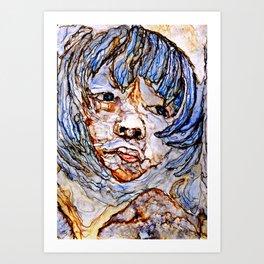 Aware Art Print