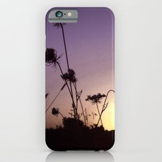 Wildflowers Sunset iPhone 6 Slim Case